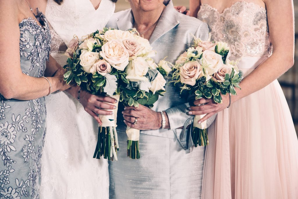 Wedding Flowers for the Bride and Family